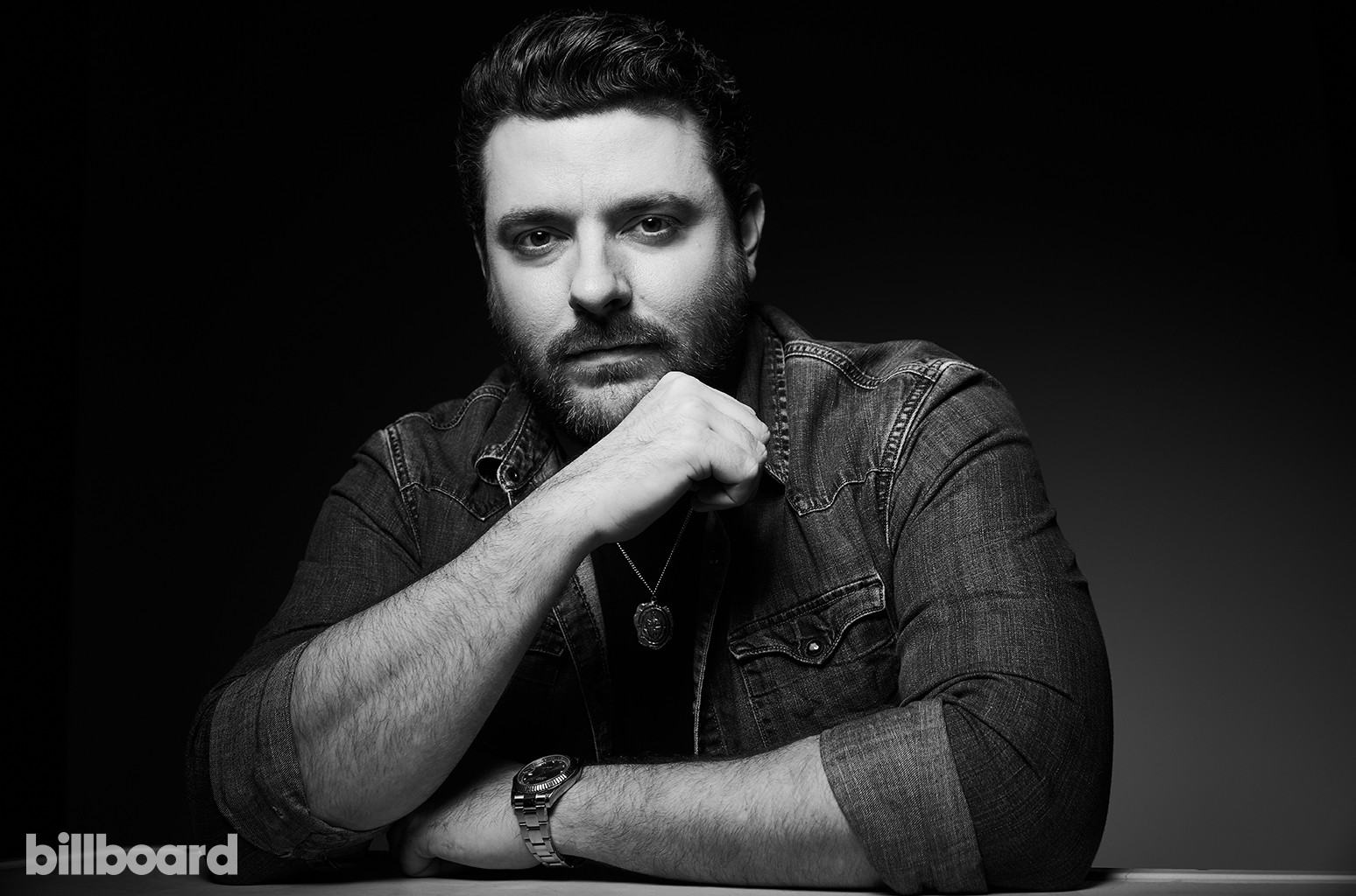 Chris Young photographed on June 10, 2017 at Nissan Stadium in Nashville, Tenn.