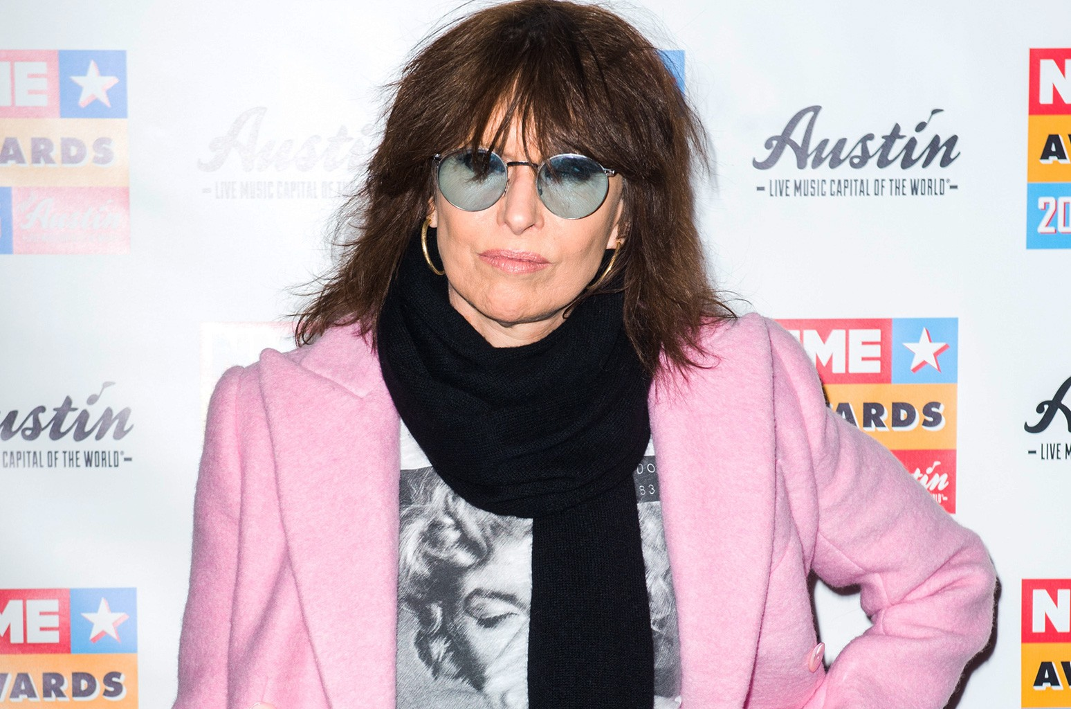Chrissie Hynde attends the NME