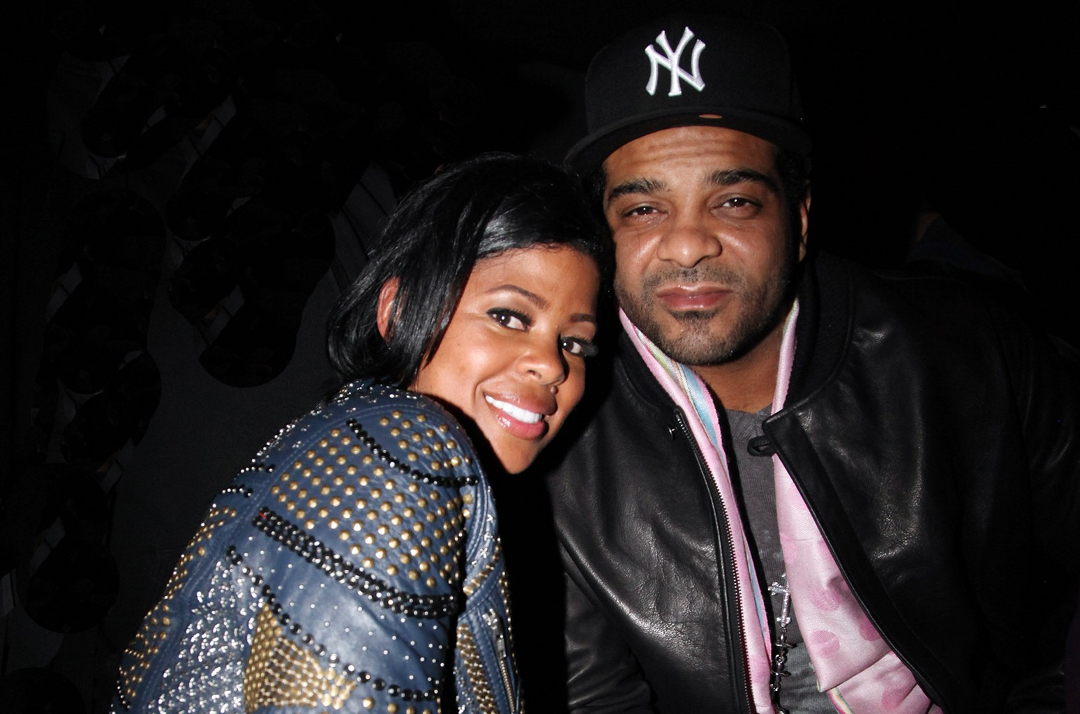 Chrissy Lampkin and Jim Jones