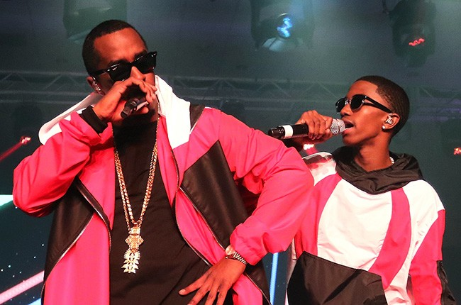 Puff Daddy and Christian Combs