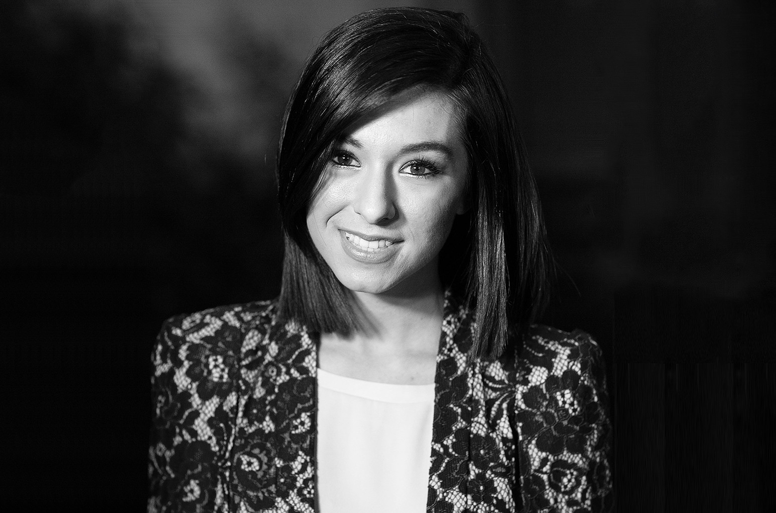Christina Grimmie at Sony Pictures Studios