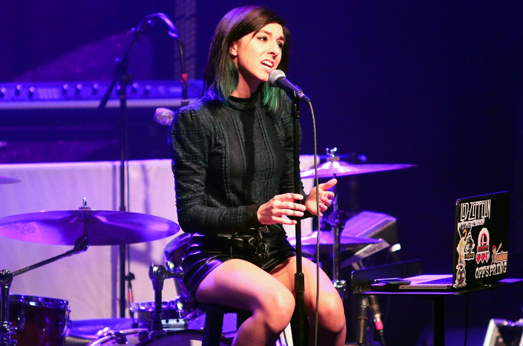 Christina Grimmie performs in Atlanta