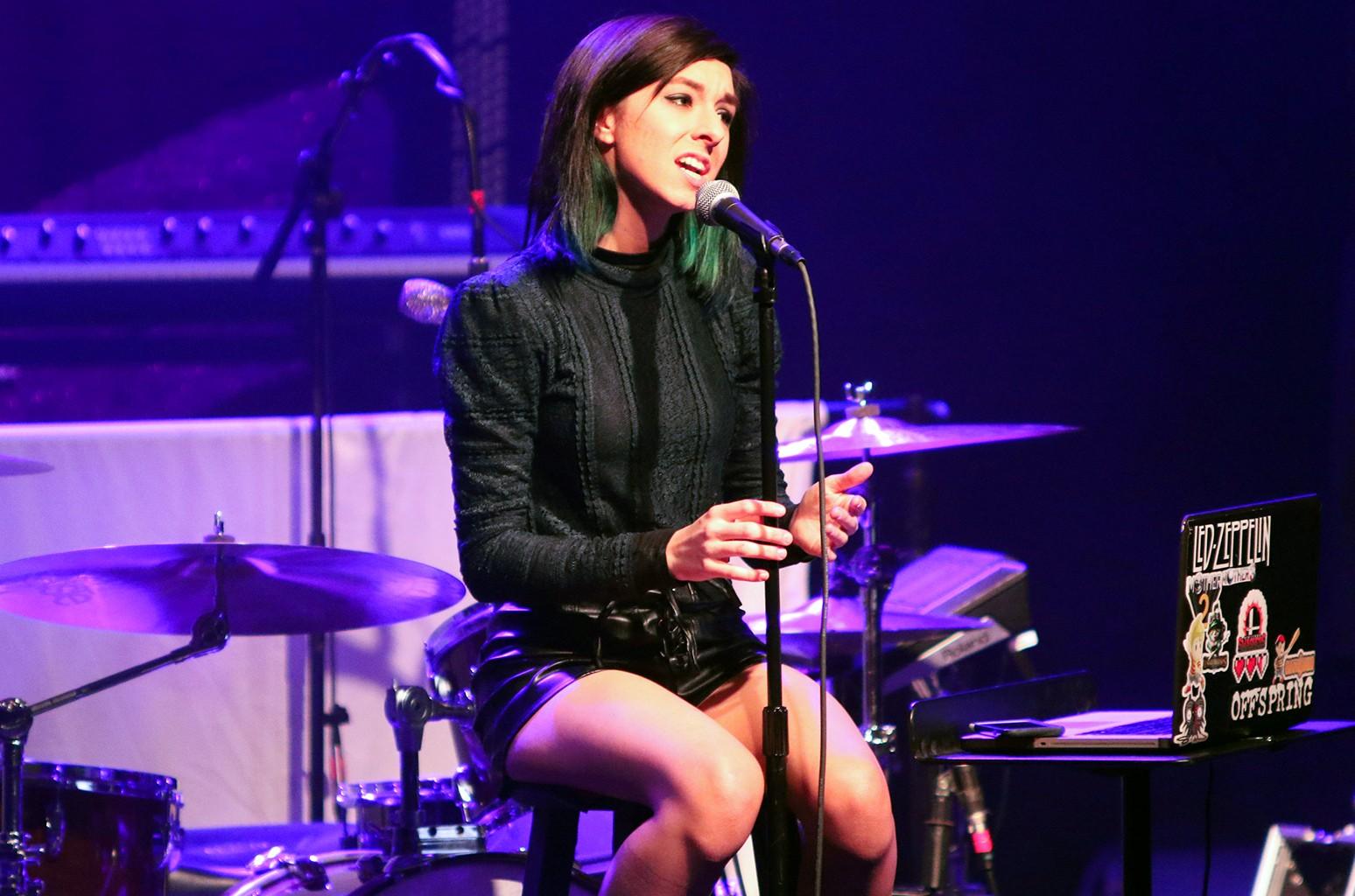 Christina Grimmie performs in Atlanta