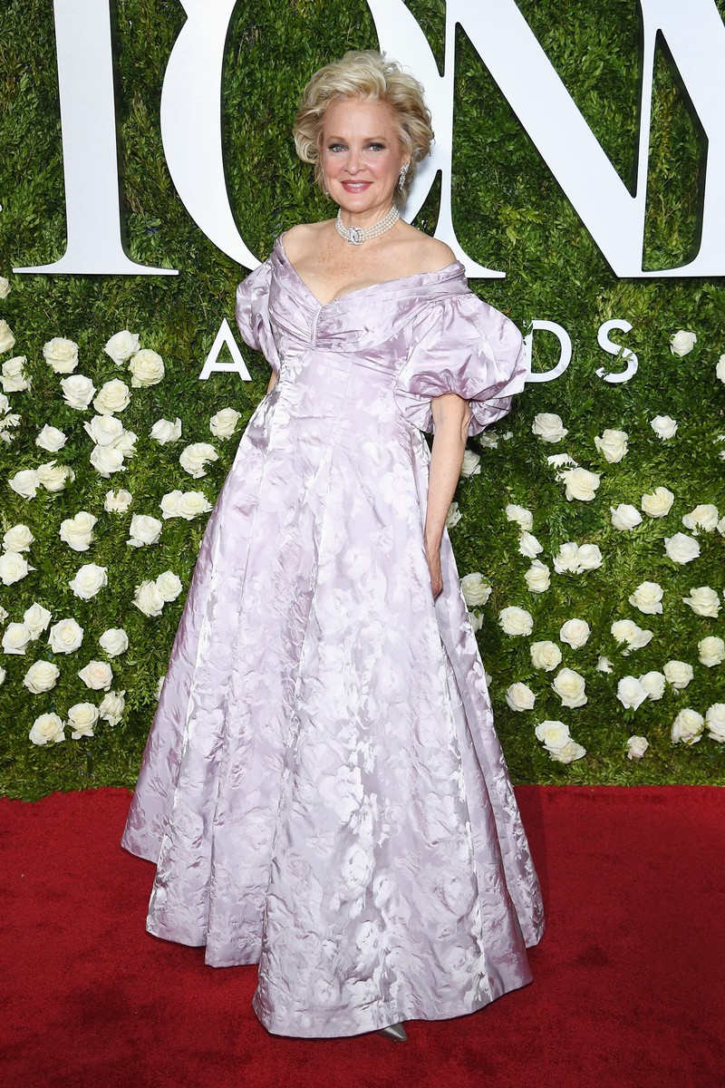 Christine Ebersole attends the 2017 Tony Awards at Radio City Music Hall on June 11, 2017 in New York City.