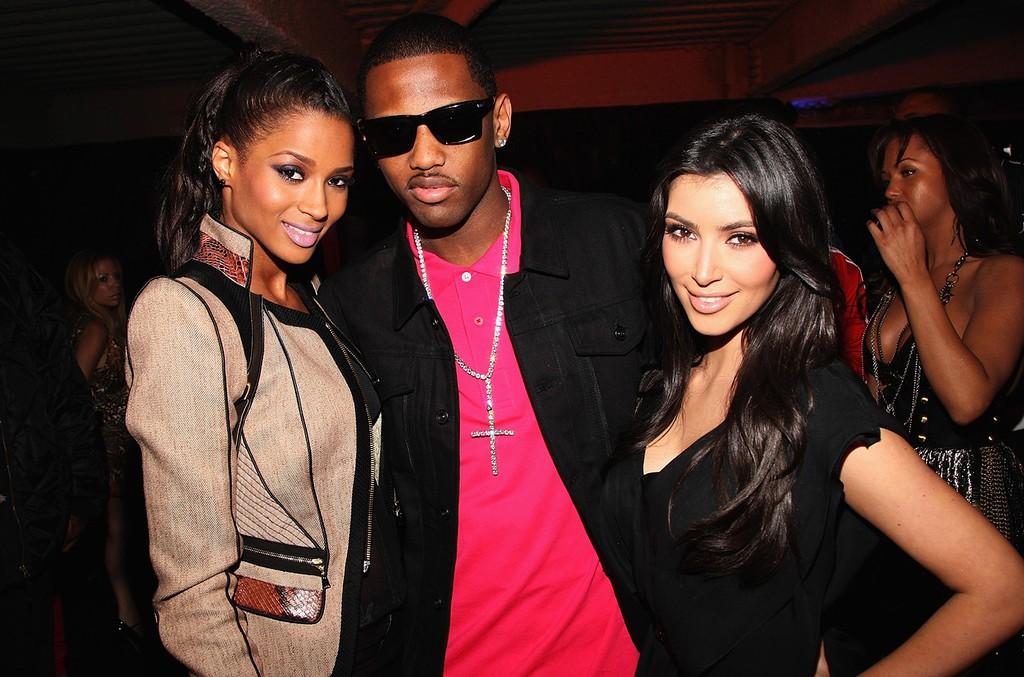 Ciara, Fabolous & Kim Kardashian