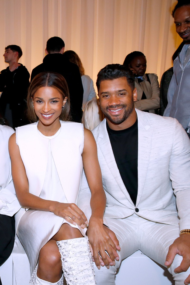 Ciara and Russell Wilson 2016