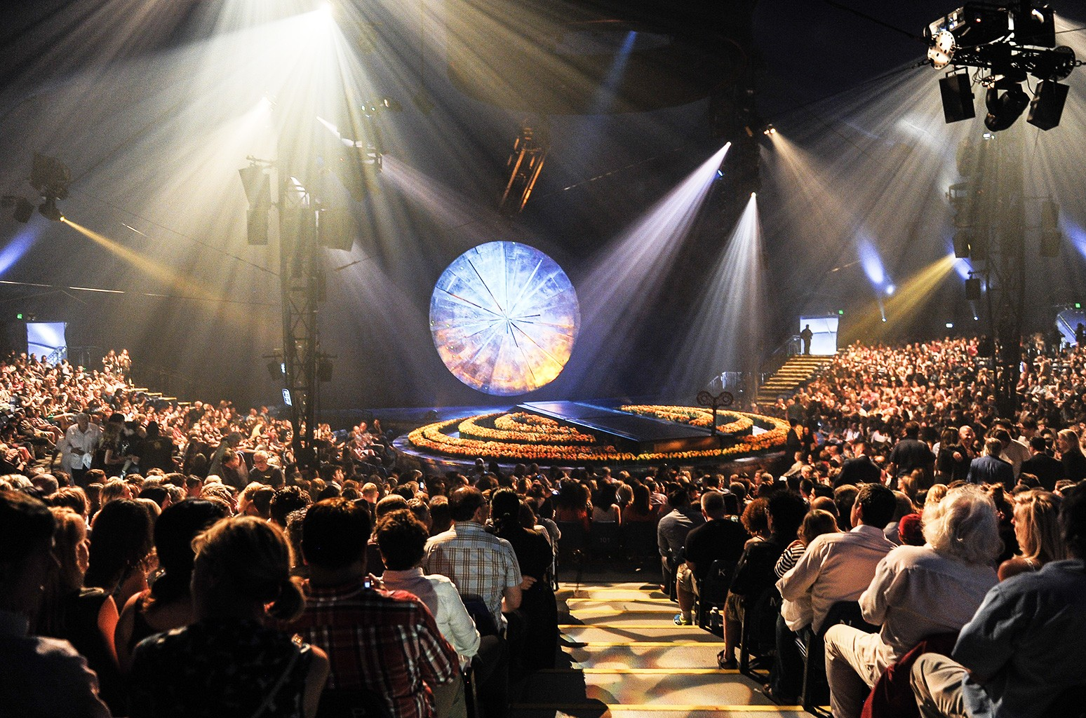 "A general view of the opening of Cirque Du Soleil's ""Luzia"" at Port Lands on July 28, 2016 in Toronto, Canada."