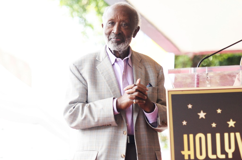 Clarence Avant attends a ceremony honoring him with a star on the Hollywood Walk of Fame on Oct. 7, 2016 in Hollywood, Calif.