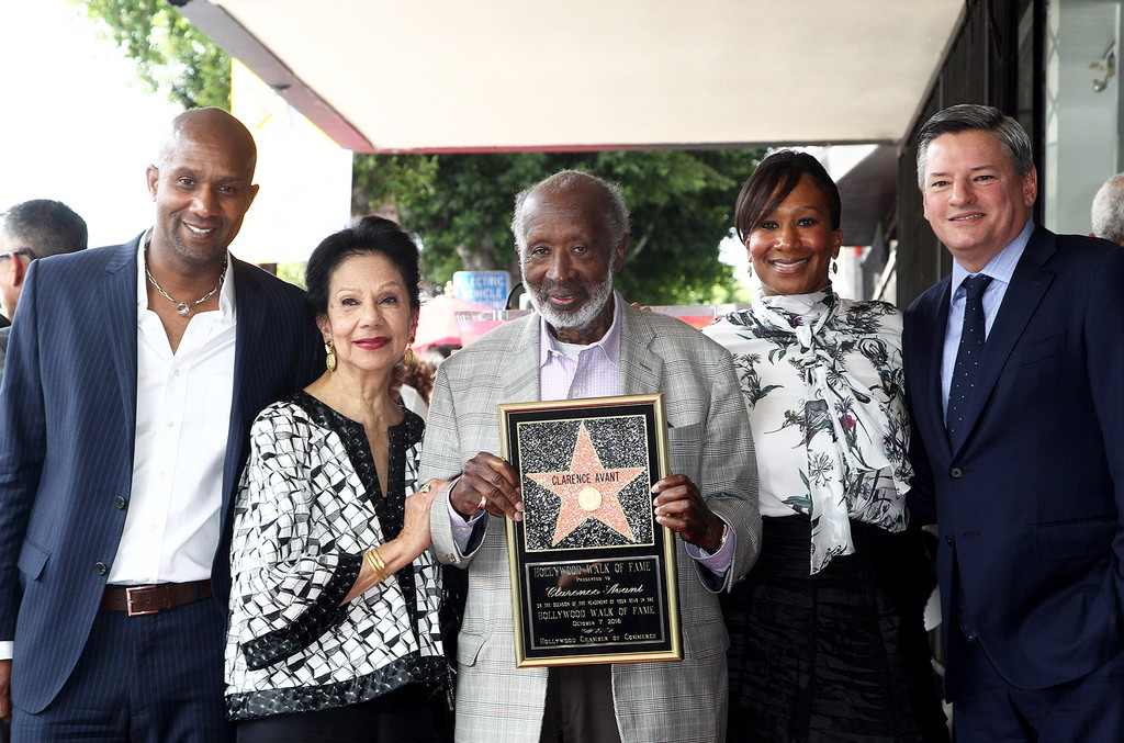 Clarence Avant on the Hollywood Walk Of Fame