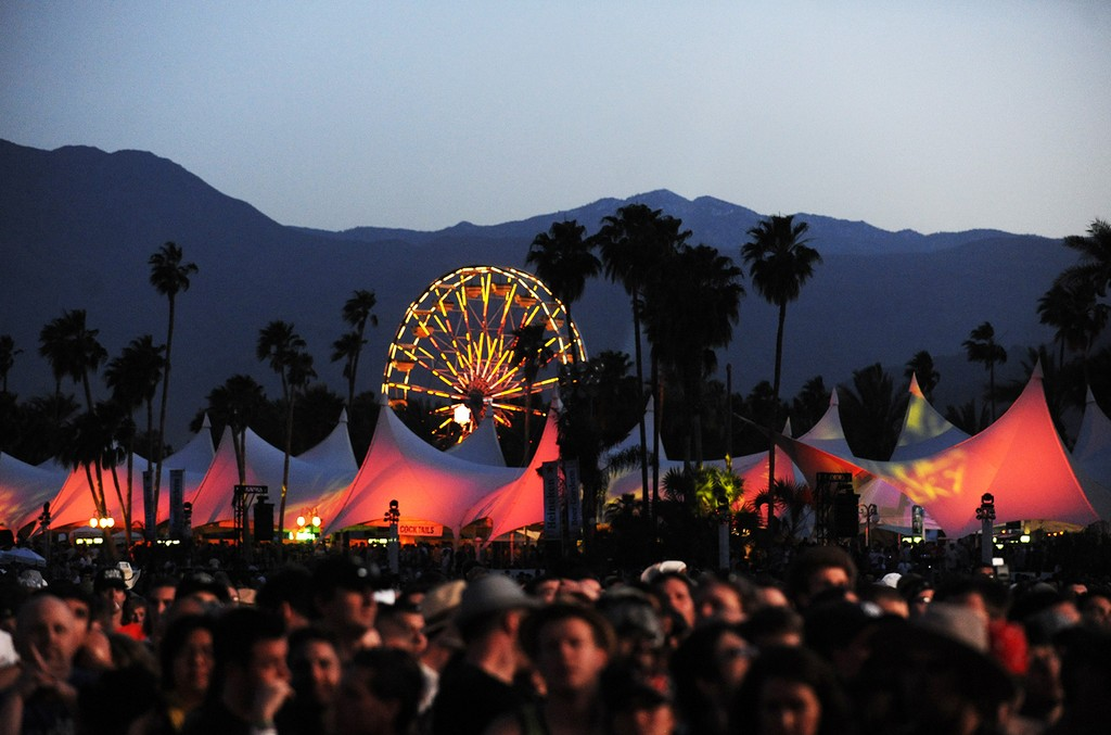 Atmosphere at the Coachella Valley Music and Arts Festival at the Empire Polo Fields on April 16, 2010 in Indio, Calif.