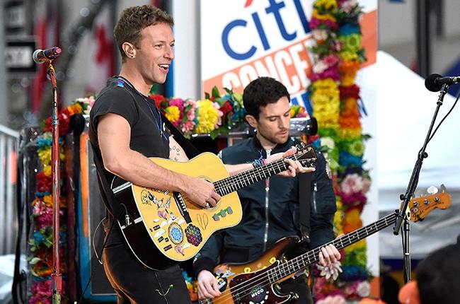 Chris Martin Coldplay 2016