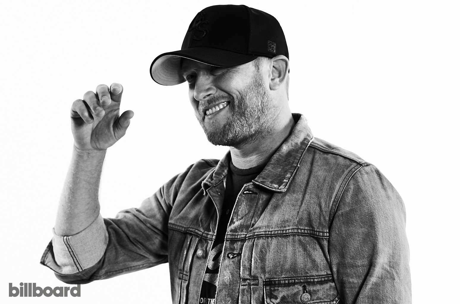 Cole Swindell photographed on June 8, 2017 at Nissan Stadium in Nashville, Tenn.