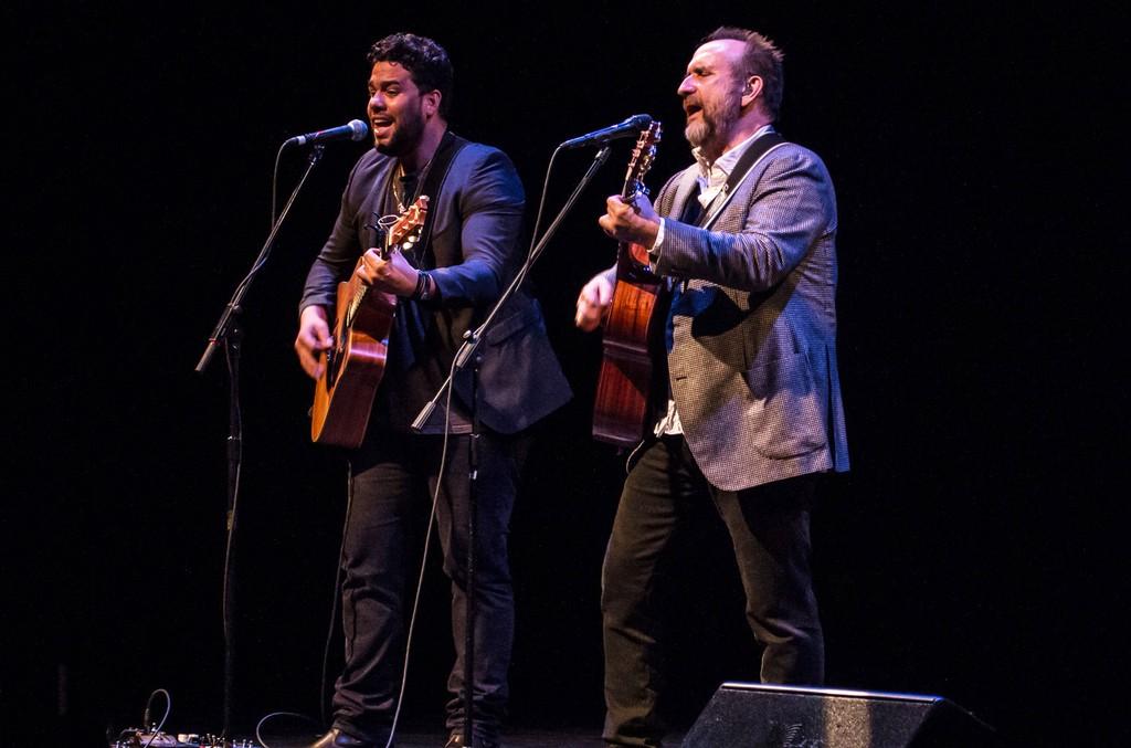 San Miguel and Colin Hay