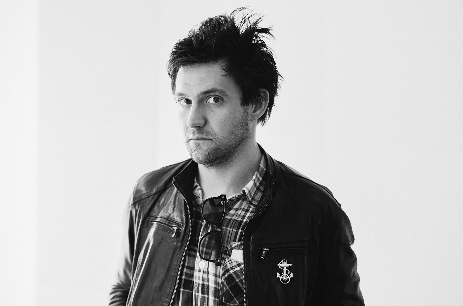 Conor Oberst poses for a portrait at SiriusXM Studio on Oct. 12, 2016 in New York City.