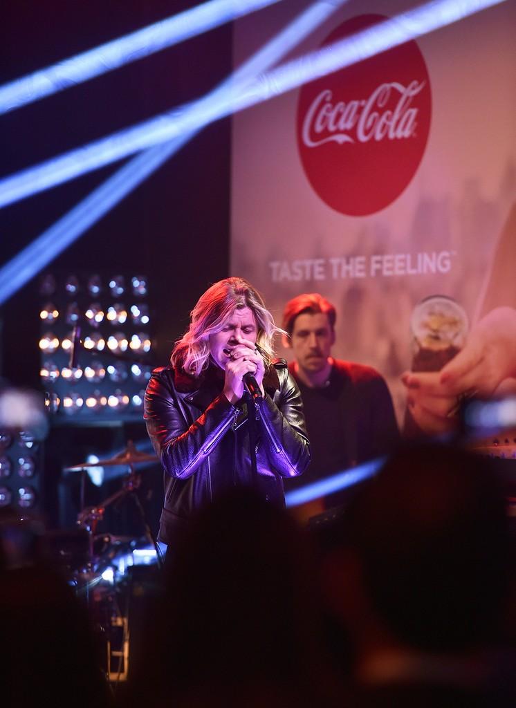 Conrad Sewell Coca-Cola Taste The Feeling 2016