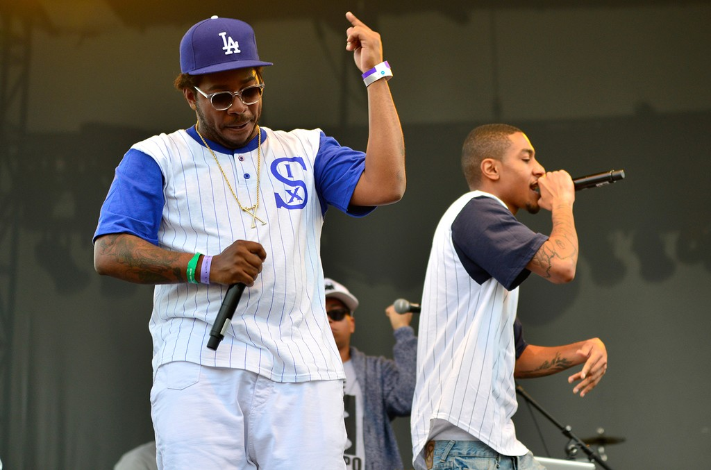 The Cool Kids perform