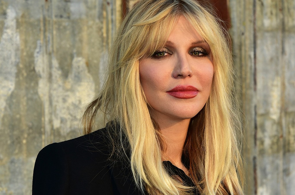 Courtney Love Givenchy NYFW 2015