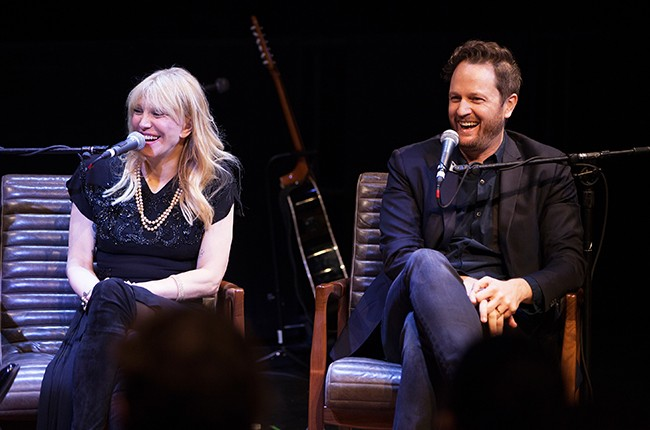 Courtney Love and Todd Almond 2016