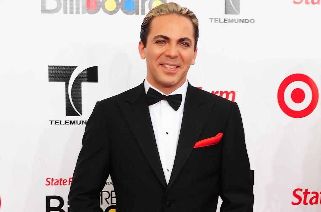 Cristian Castro at the 2011 Billboard Latin Music Awards
