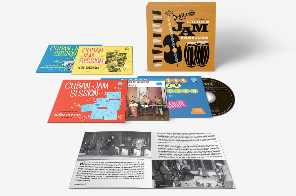The Complete Cuban Jam Sessions Boxset