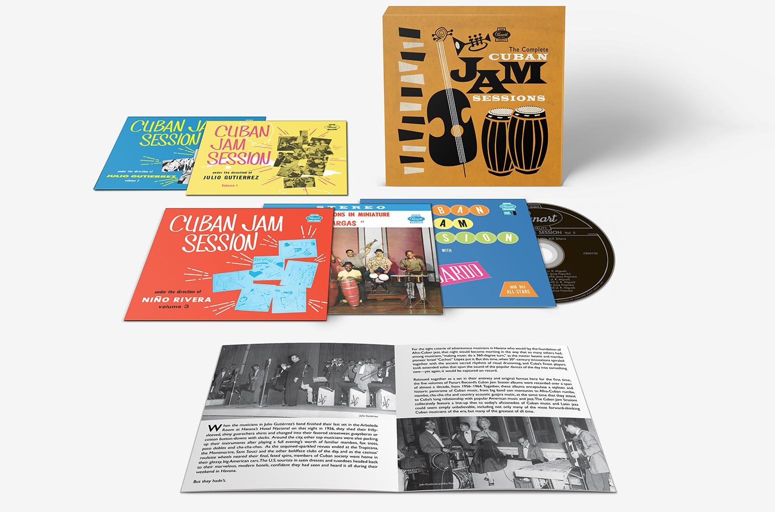 The Complete Cuban Jam Sessions Boxset