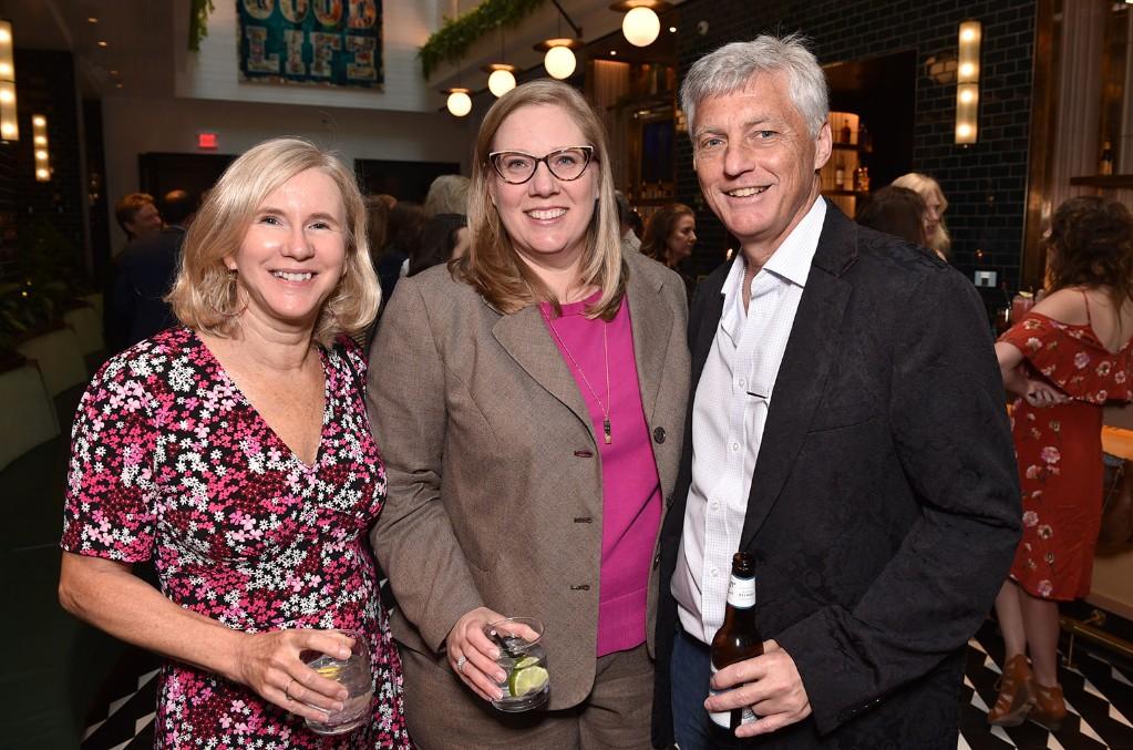Cynthia Mellow, Julie Boos and Tom Roland