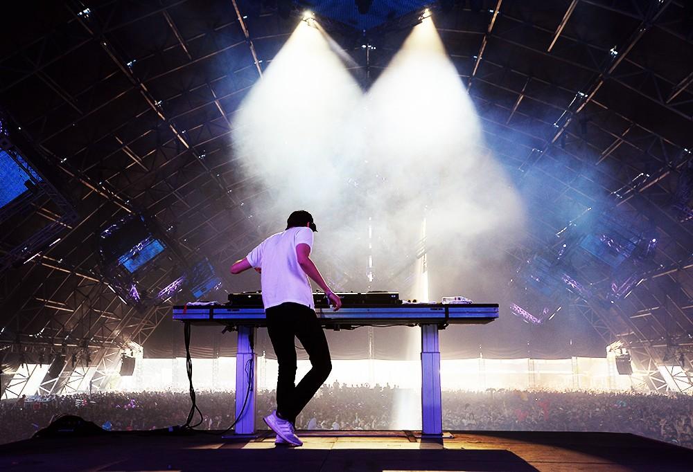 DJ Baauer, Coachella