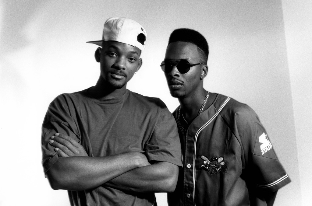 Will Smith and Jazzy Jeff of DJ Jazzy Jeff and the Fresh Prince.