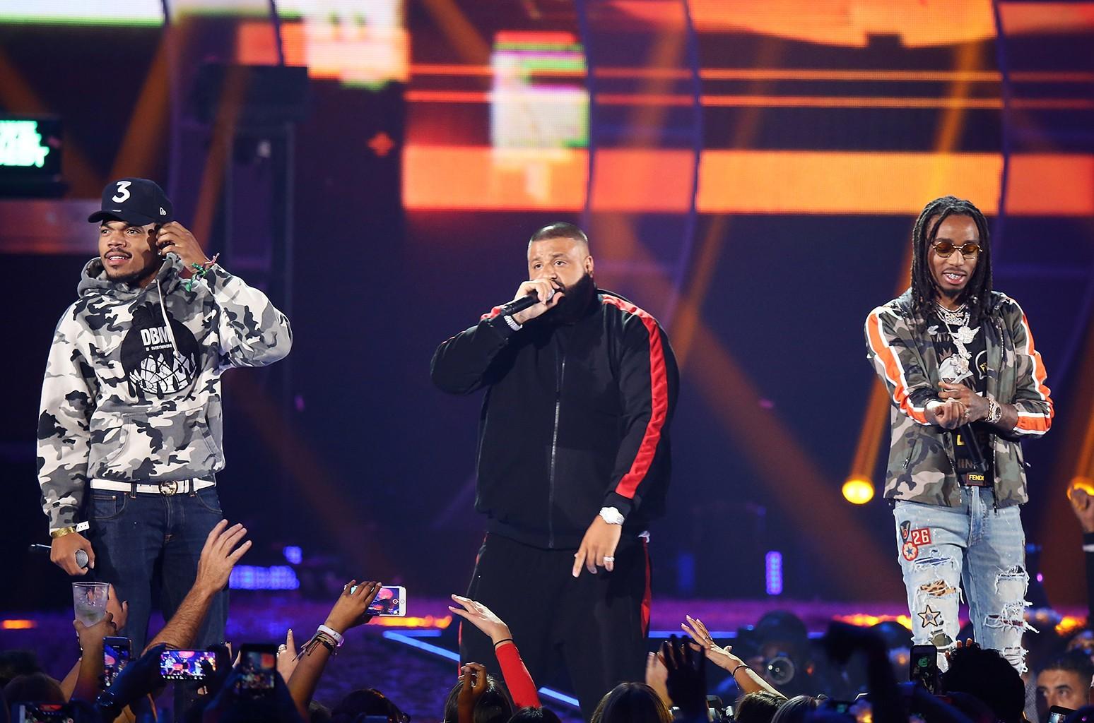 DJ Khaled, Quavo and Chance the Rapper