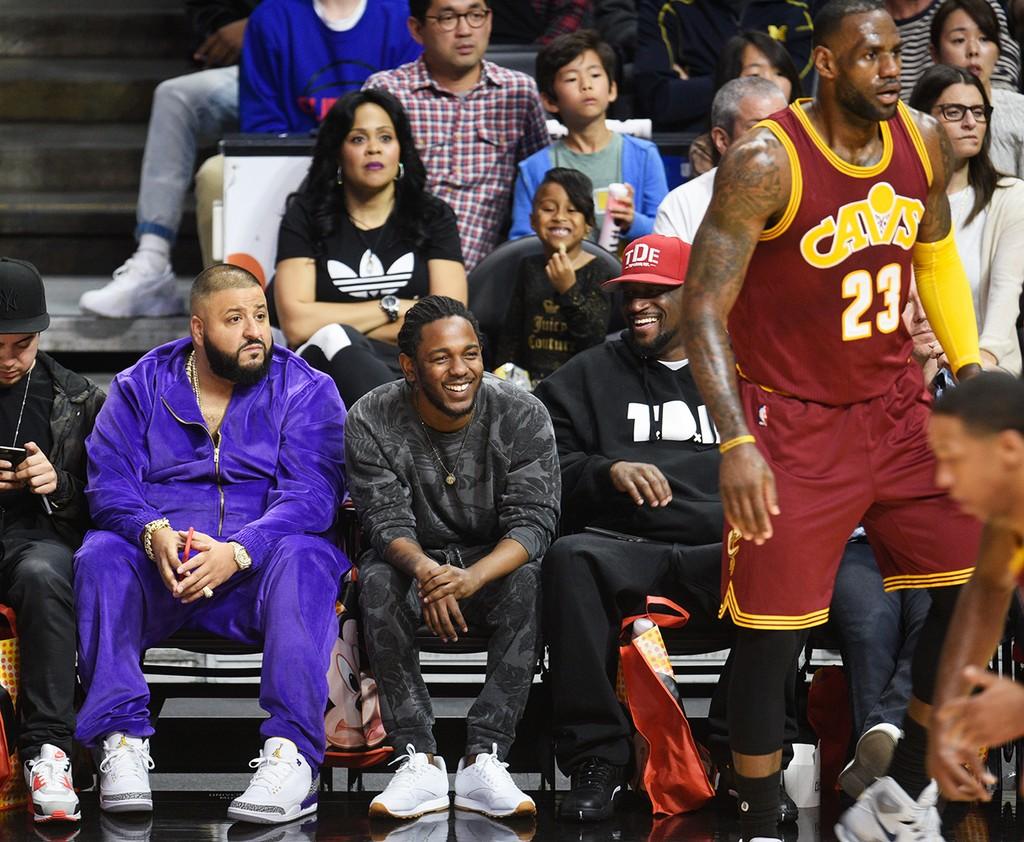 DJ Khaled and Kendrick Lamar