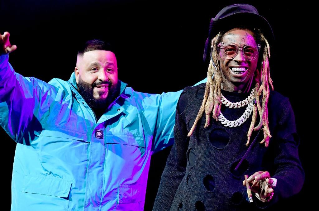 DJ Khaled and Lil Wayne