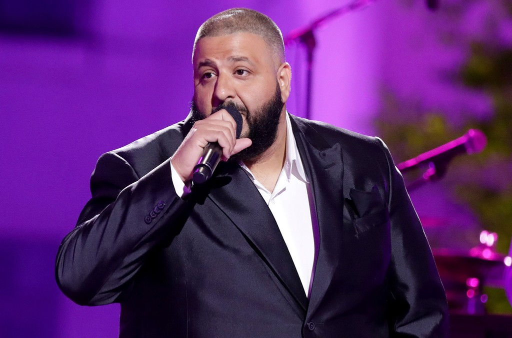 DJ Khaled speaks onstage during the VH1 'Dear Mama' taping on May 6, 2017 in Los Angeles.