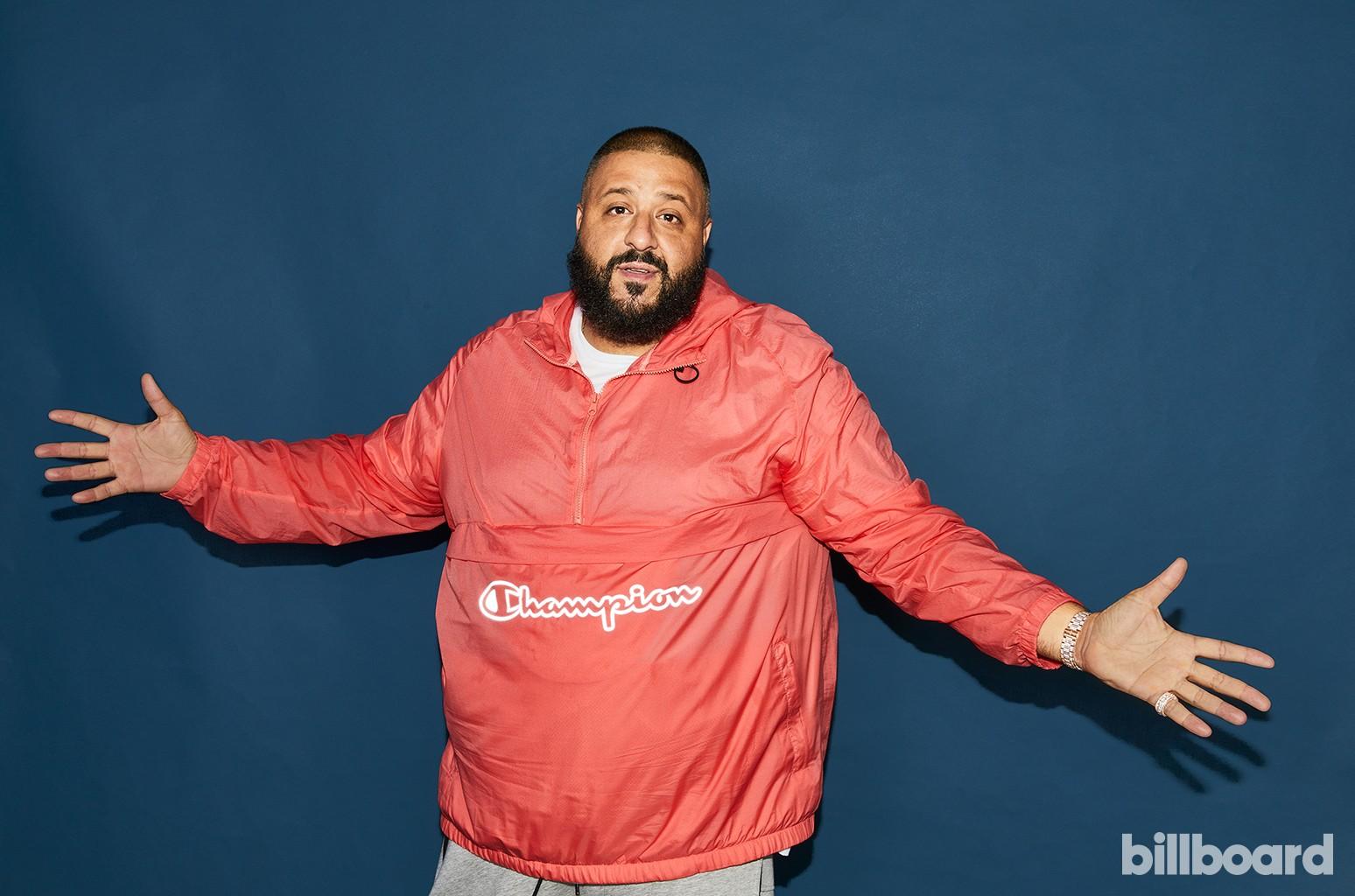 DJ Khaled at the Hot 100 Music Festival, 2017