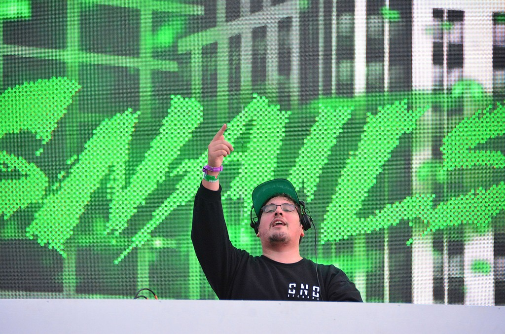 Frederik Durand aka DJ Snails performs at the Electric Zoo Music Festival - Day 1 - at Randall's Island on Sept. 1, 2017 in New York City.