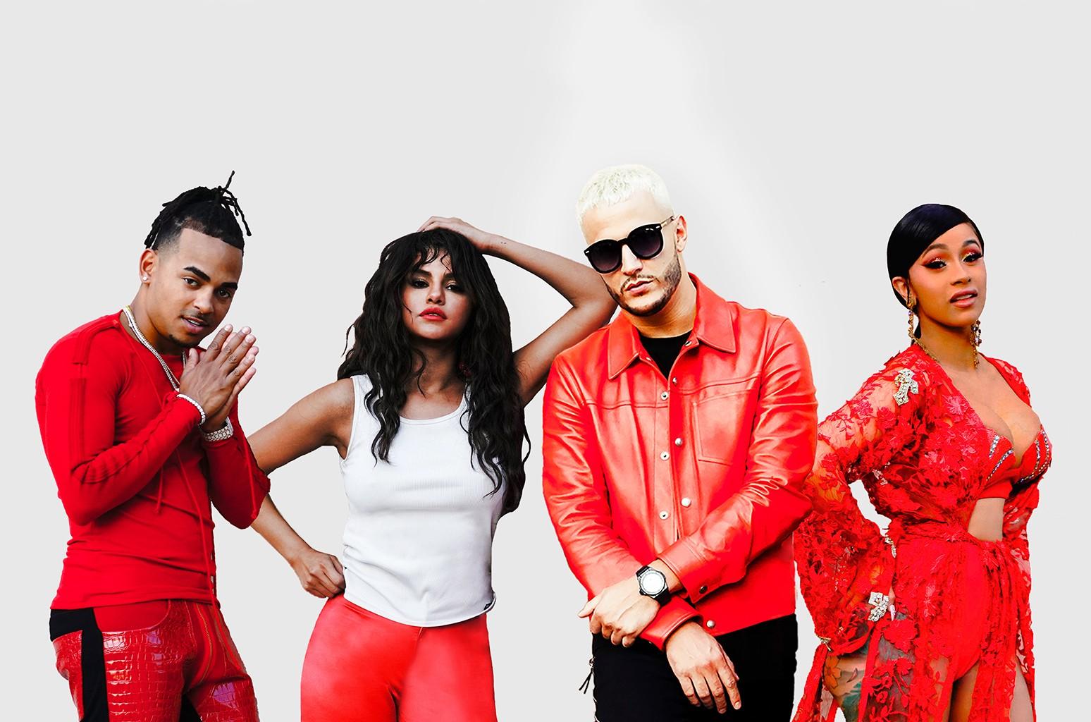 DJ Snake, Ozuna, Cardi B Selena Gomez