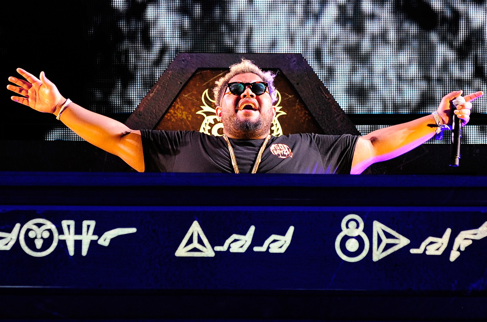 DJ Carnage performs during the 20th annual Electric Daisy Carnival at Las Vegas Motor Speedway on June 19, 2016 in Las Vegas.