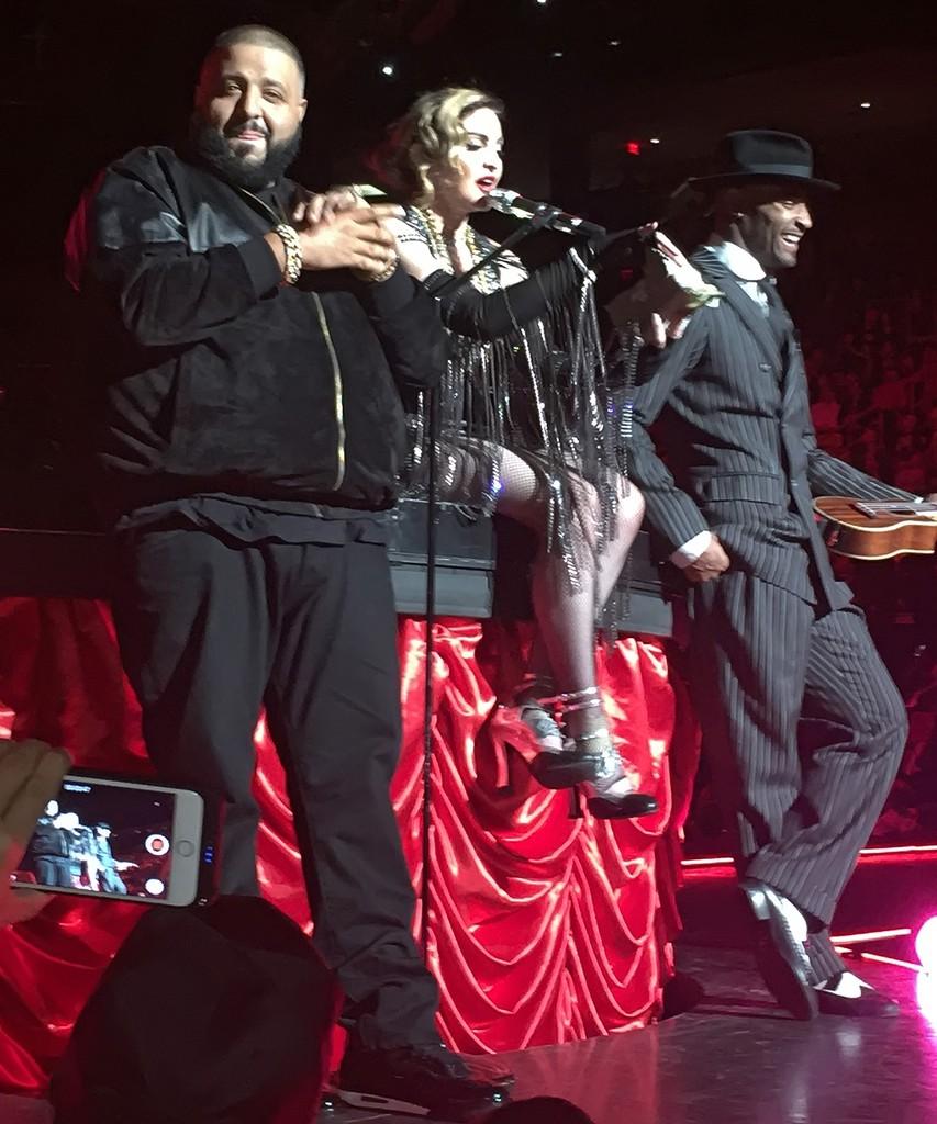 DJ Khaled and Madonna