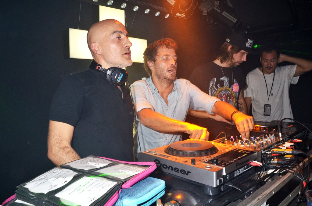 DJs Hubert 'Boom Bass' (Hubert Blanc Francard ) Philippe 'Zdar' (Philippe Cerboneschi)