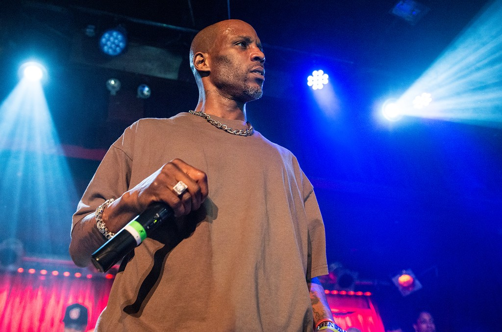 DMX performs in concert at B.B. King Blues Club & Grill on March 27, 2016 in New York City.