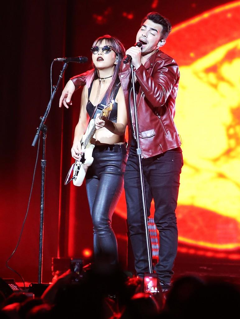 JinJoo Lee and Joe Jonas
