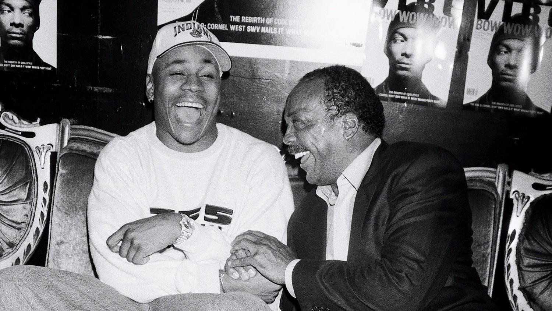 LLCoolJ and Quincy Jones