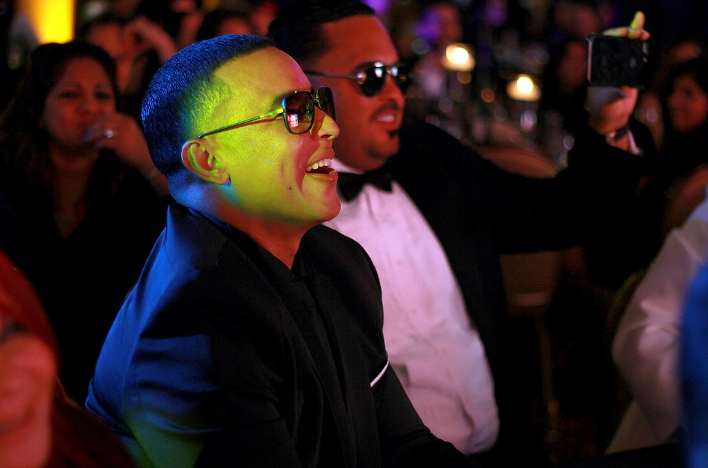 Daddy Yankee at the ASCAP Latin Music Awards at Condado Vanderbilt Hotel on March 15, 2017 in San Juan, Puerto Rico.