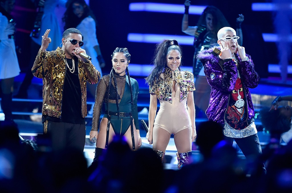 Daddy Yankee, Becky G, Natti Natasha and Bad Bunny