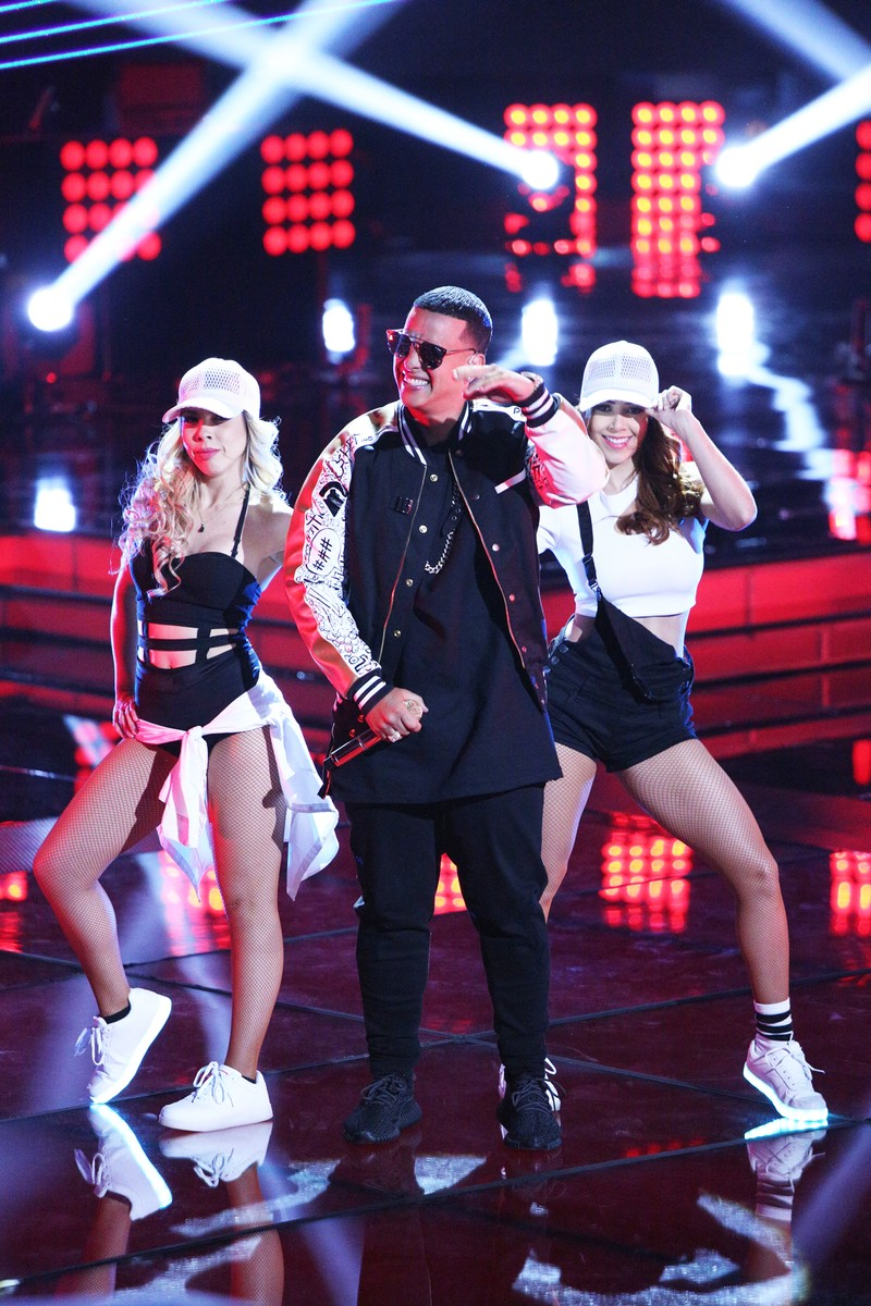 Daddy Yankee performs onstage during the season finale of La Voz Kids.