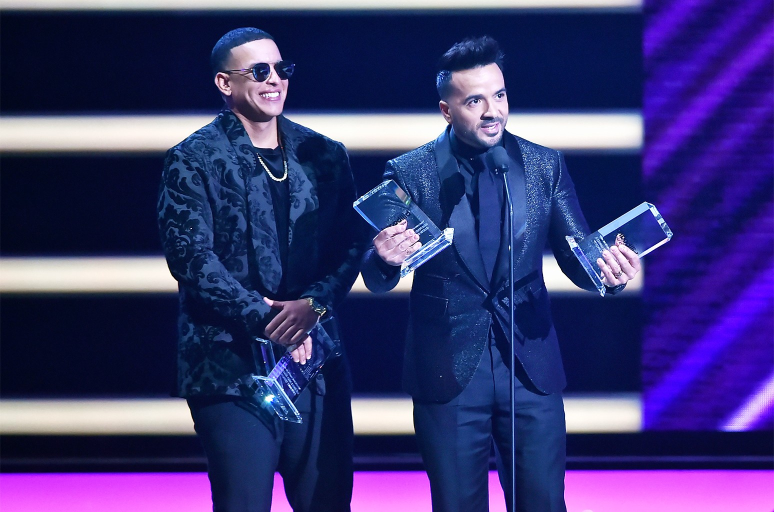 Daddy Yankee and Luis Fonsi