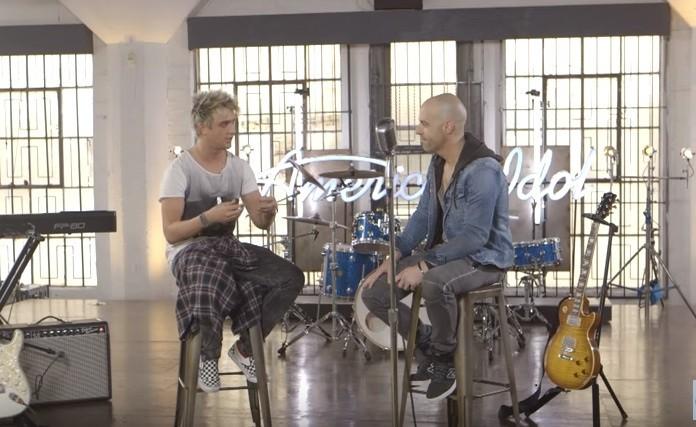 "Chris Daughtry mentors Dalton Rapattoni on ""American Idol"""