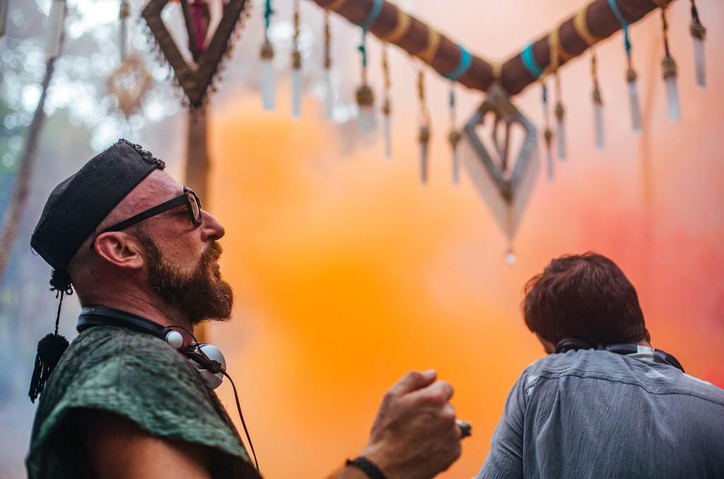 Damian Lazarus at Day Zero 2017 in Tulum, Mexico
