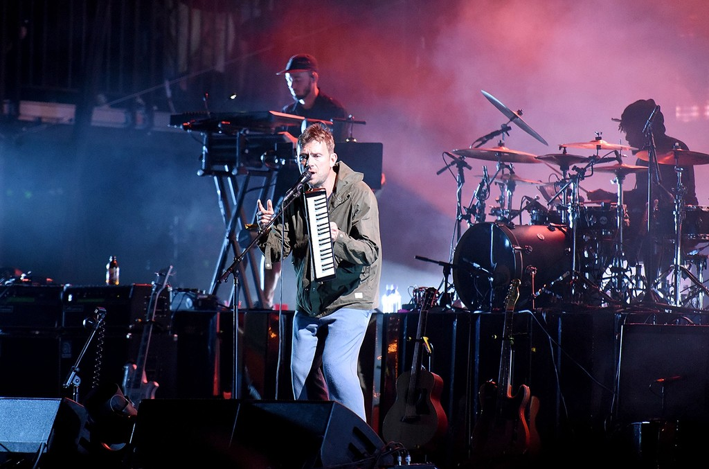 Damon Albarn of Gorillaz