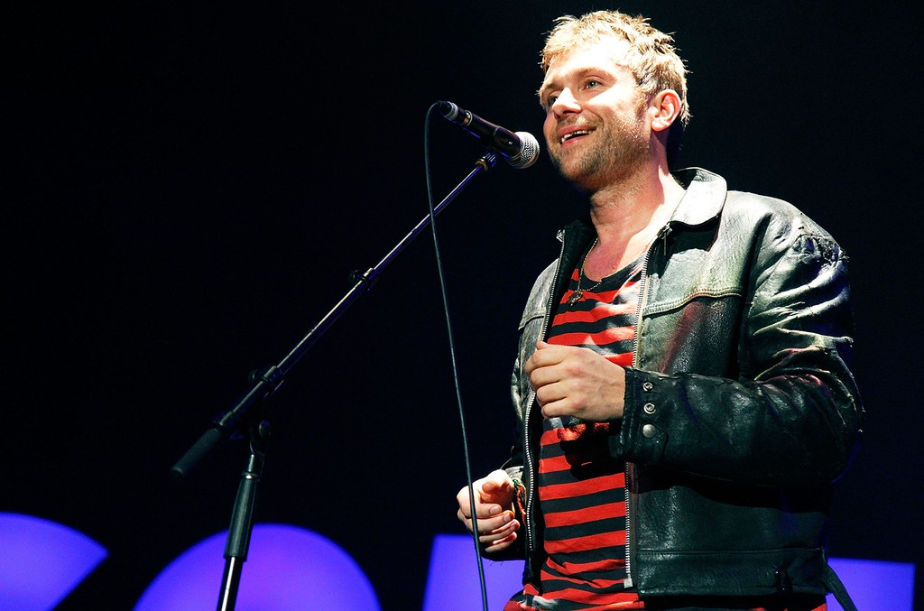 Damon Albarn of the Gorillaz performs on stage at The Burswood Dome on Dec. 6, 2010 in Perth, Australia.