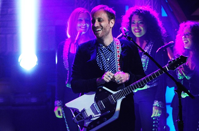 Dan Auerbach of The Arcs performs on The Late Show with Stephen Colbert